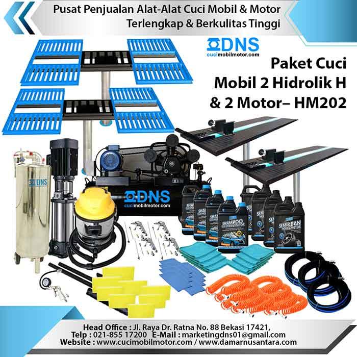 Paket Cuci Mobil 2 Hidrolik H dan 2 Motor – HM202