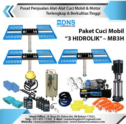 "Paket Cuci Mobil ""3 HIDROLIK"" – MB3H"