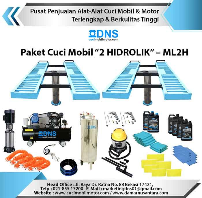 "Paket Cuci Mobil ""2 HIDROLIK"" – ML2H"