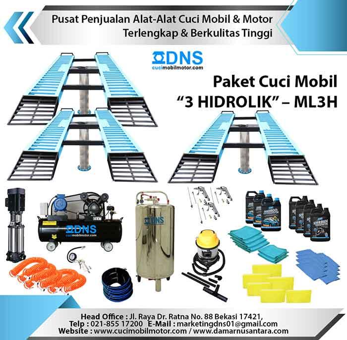 "Paket Cuci Mobil ""3 HIDROLIK"" – ML3H"