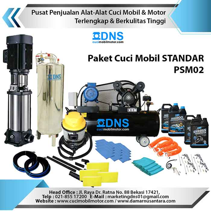 Paket Cuci Mobil STANDAR PSM02