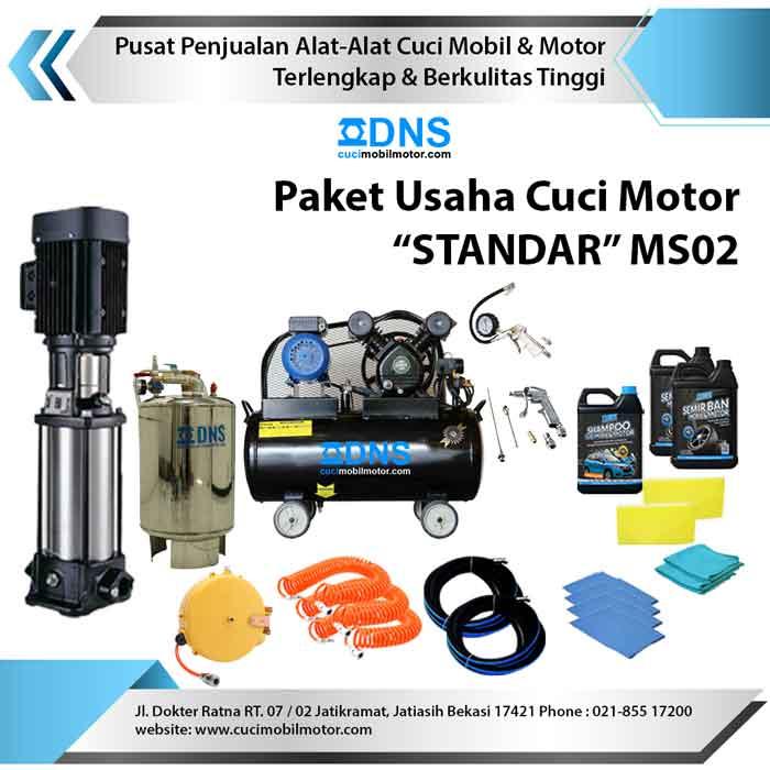 """Paket Usaha Cuci Motor """"STANDAR"""" MS02"""