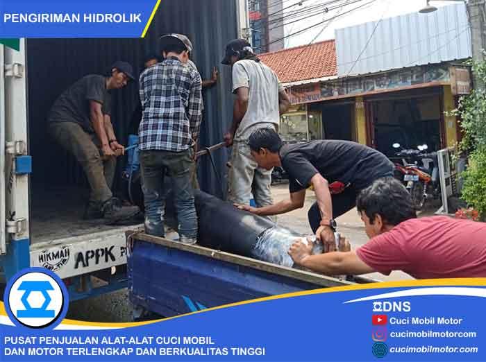 Muat Barang Hidrolik Pengiriman Ke Semarang
