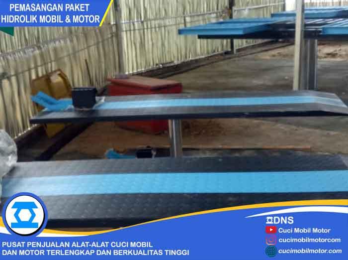Pemasangan 2 Hidrolik Ratio-H dan 2 Hidrolik Motor di Palembang