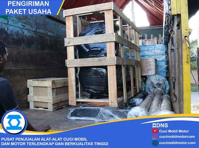 Pengiriman Paket Usaha Hidrolik Mobil & Motor Ke Palembang