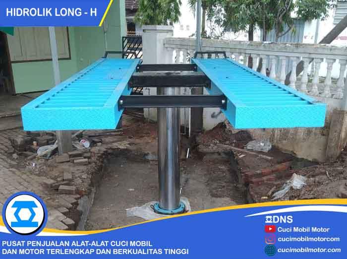Proses Pemasangan Hidrolik Long-H di Pasuruan