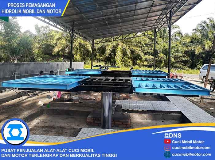 Hasil Pemasangan Hidrolik Ratio-H di Bengkulu