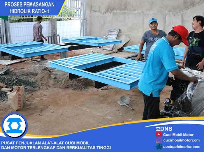 Proses Pemasangan Ratio-H di Mustika Jaya, Bekasi